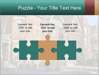 Victorian row of houses PowerPoint Template - Slide 42