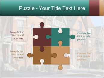 Victorian row of houses PowerPoint Template - Slide 43
