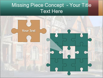 Victorian row of houses PowerPoint Template - Slide 45