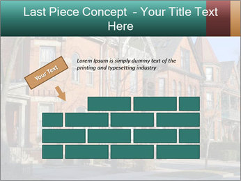 Victorian row of houses PowerPoint Template - Slide 46