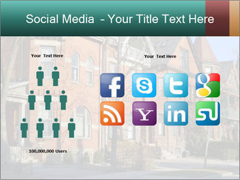 Victorian row of houses PowerPoint Template - Slide 5