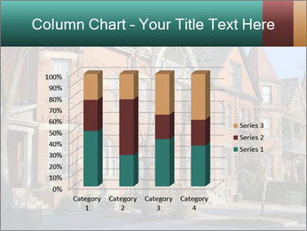 Victorian row of houses PowerPoint Template - Slide 50