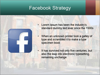 Victorian row of houses PowerPoint Template - Slide 6