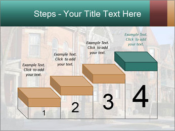 Victorian row of houses PowerPoint Template - Slide 64