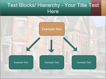 Victorian row of houses PowerPoint Template - Slide 69