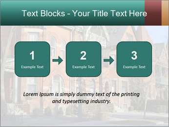 Victorian row of houses PowerPoint Template - Slide 71
