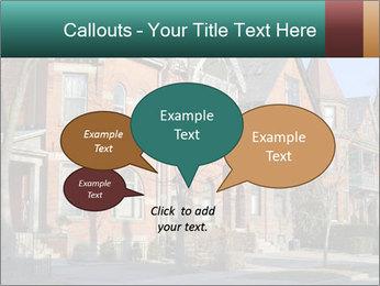 Victorian row of houses PowerPoint Template - Slide 73