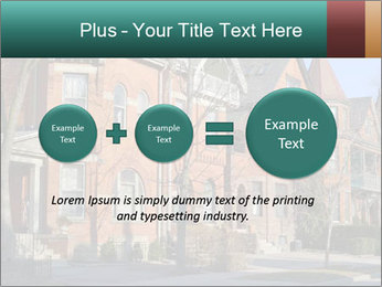 Victorian row of houses PowerPoint Template - Slide 75