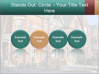 Victorian row of houses PowerPoint Template - Slide 76