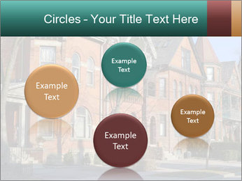 Victorian row of houses PowerPoint Template - Slide 77