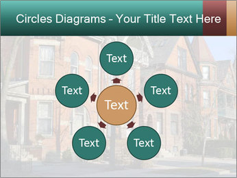 Victorian row of houses PowerPoint Template - Slide 78