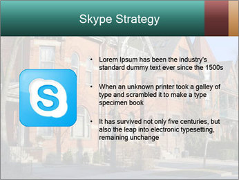 Victorian row of houses PowerPoint Template - Slide 8