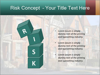 Victorian row of houses PowerPoint Template - Slide 81