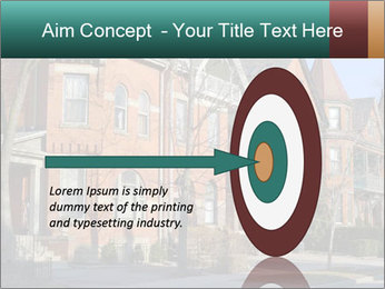 Victorian row of houses PowerPoint Template - Slide 83