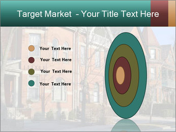 Victorian row of houses PowerPoint Template - Slide 84