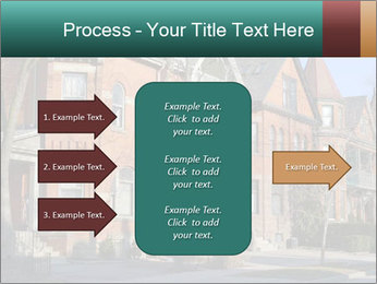 Victorian row of houses PowerPoint Template - Slide 85