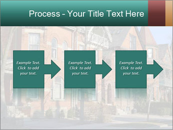 Victorian row of houses PowerPoint Template - Slide 88