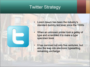 Victorian row of houses PowerPoint Template - Slide 9