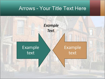 Victorian row of houses PowerPoint Template - Slide 90