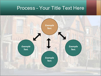 Victorian row of houses PowerPoint Template - Slide 91