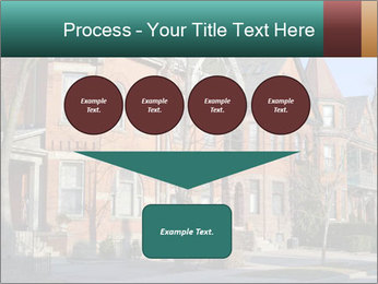 Victorian row of houses PowerPoint Template - Slide 93