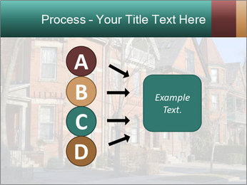 Victorian row of houses PowerPoint Template - Slide 94