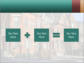 Victorian row of houses PowerPoint Template - Slide 95