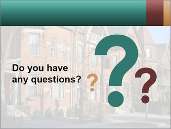 Victorian row of houses PowerPoint Template - Slide 96