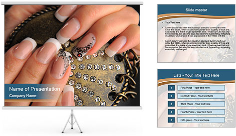 Manicures PowerPoint Template