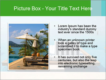 Infinity swimming pool PowerPoint Templates - Slide 13