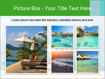 Infinity swimming pool PowerPoint Templates - Slide 19