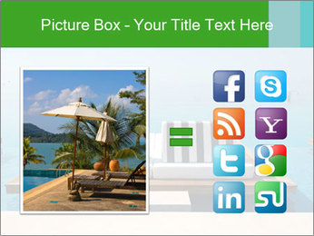 Infinity swimming pool PowerPoint Templates - Slide 21