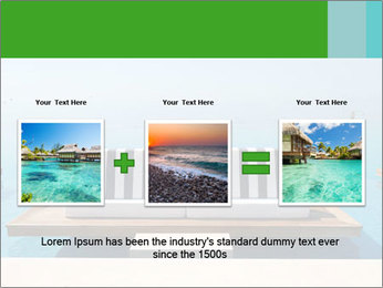 Infinity swimming pool PowerPoint Templates - Slide 22