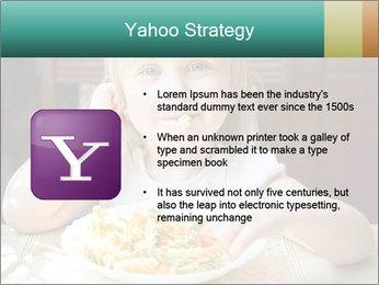 Cute little girl PowerPoint Templates - Slide 11