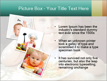 Cute little girl PowerPoint Templates - Slide 17