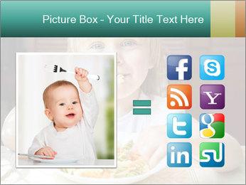 Cute little girl PowerPoint Templates - Slide 21