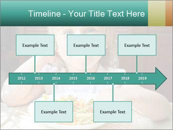 Cute little girl PowerPoint Templates - Slide 28