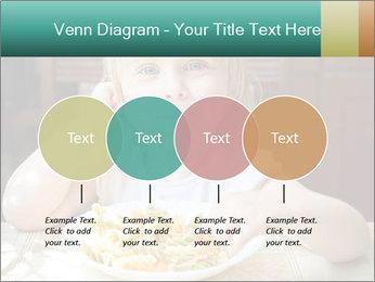 Cute little girl PowerPoint Templates - Slide 32
