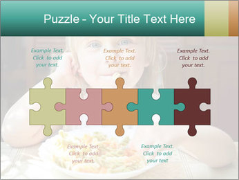 Cute little girl PowerPoint Templates - Slide 41
