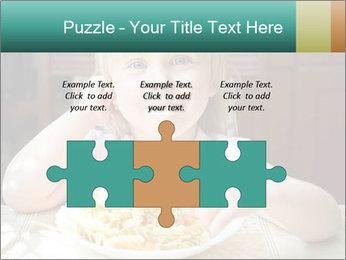 Cute little girl PowerPoint Templates - Slide 42
