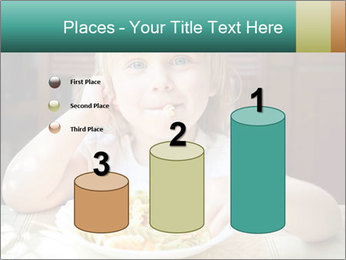 Cute little girl PowerPoint Templates - Slide 65