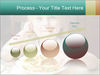 Cute little girl PowerPoint Templates - Slide 87