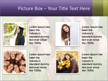 Two happy female friends PowerPoint Template - Slide 14