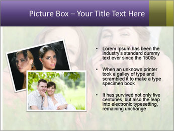 Two happy female friends PowerPoint Template - Slide 20