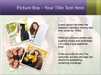 Two happy female friends PowerPoint Template - Slide 23