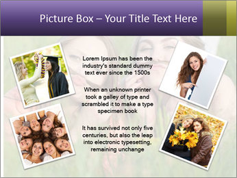 Two happy female friends PowerPoint Template - Slide 24