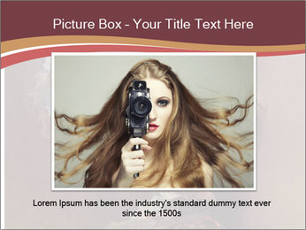 Sexy pretty woman PowerPoint Template - Slide 15
