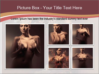 Sexy pretty woman PowerPoint Template - Slide 19