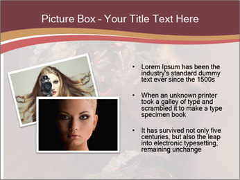Sexy pretty woman PowerPoint Template - Slide 20