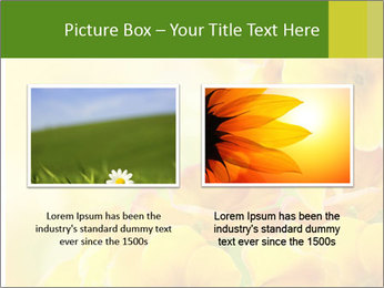 Yellow flowers PowerPoint Template - Slide 18